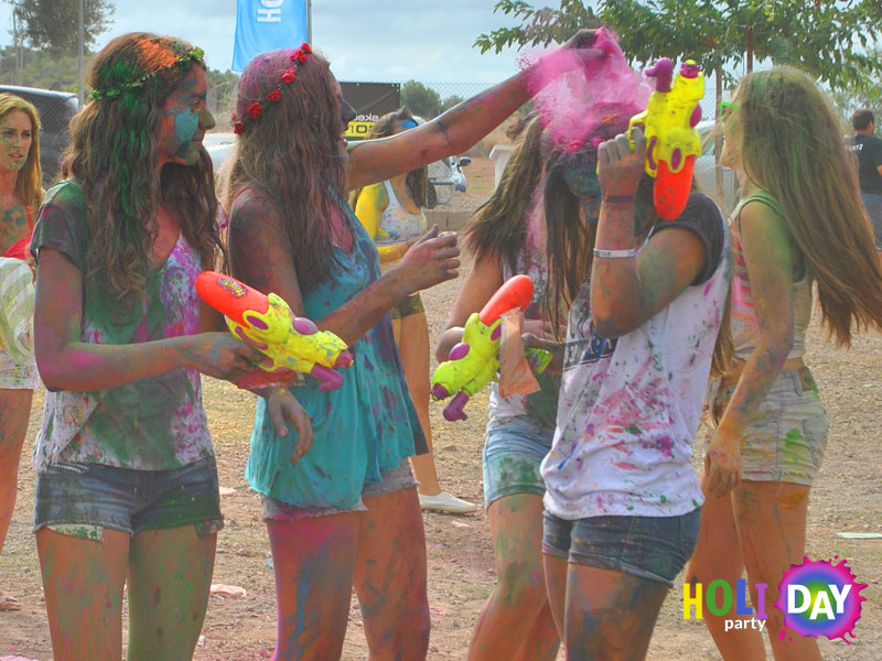 Holi Party Day Fiesta de color y luz 3
