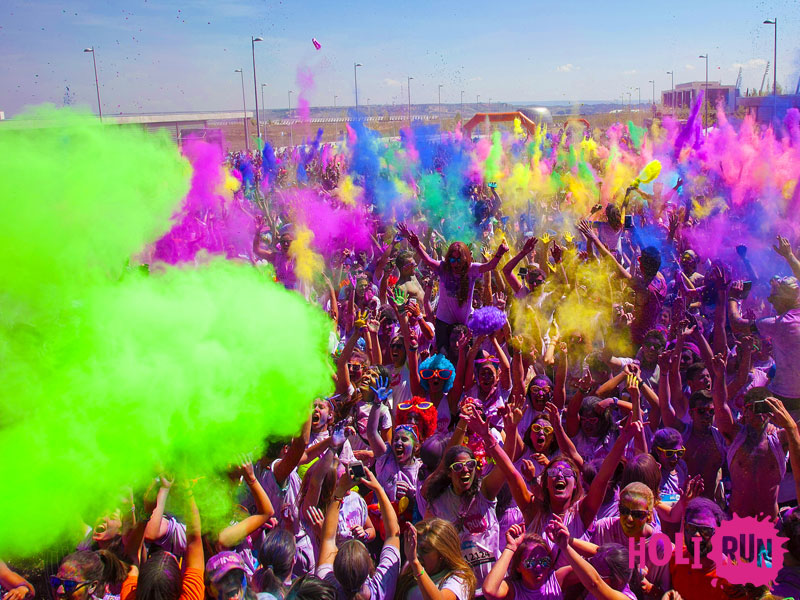 Holi Run Madrid Second Edition