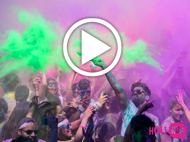 Vídeo Holi Run